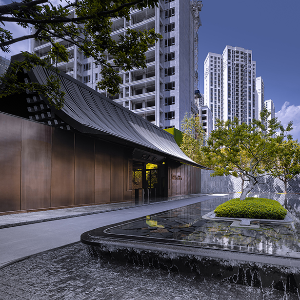 Nine Court Mansion Residential Landscape by Shenzhen IN Lab Design and Consultancy