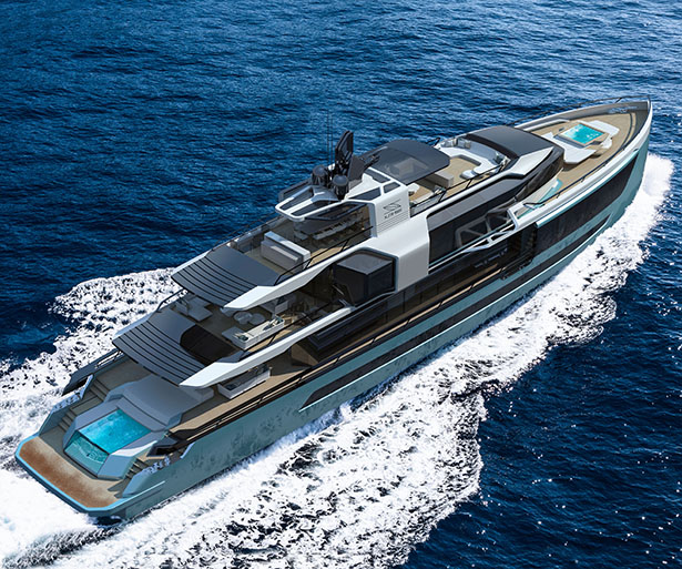 Xsr 155 Yacht by Sarp Yachts