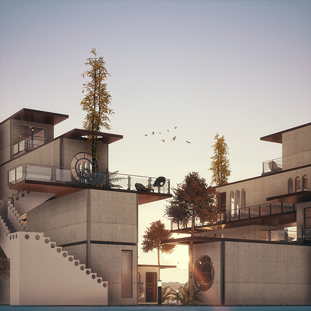 The Square Housing Units by Mohamed Yasser