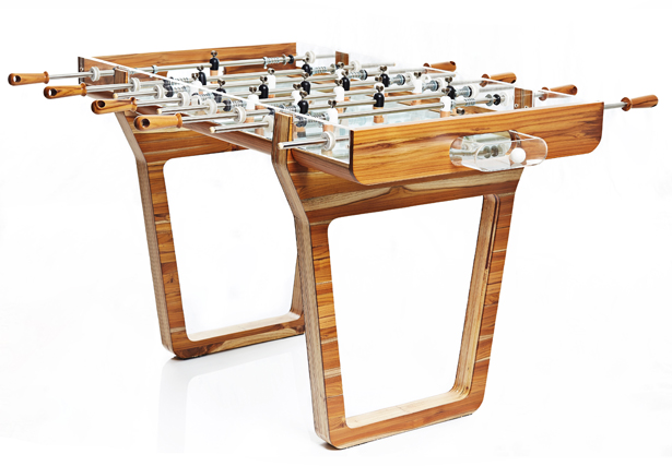 Pulse Foosball table by Mula Preta Design