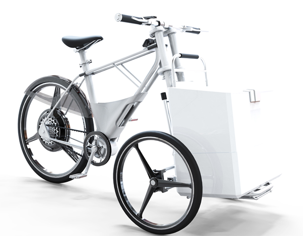 Cargob Urban Eco Bike by Peng Zhan for PONZ DESIGN