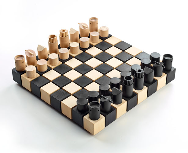 Chess set by Duval Patterson