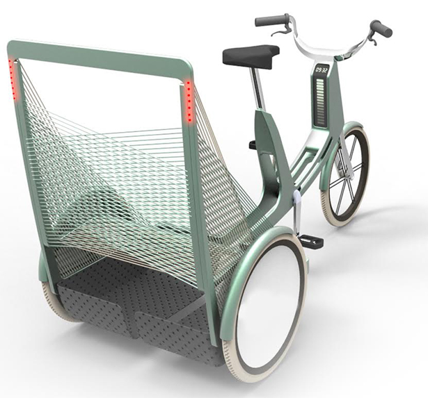A' Design Award and Competition 2014 Winners - Lecomotion E-Trike by Natacha Lesty