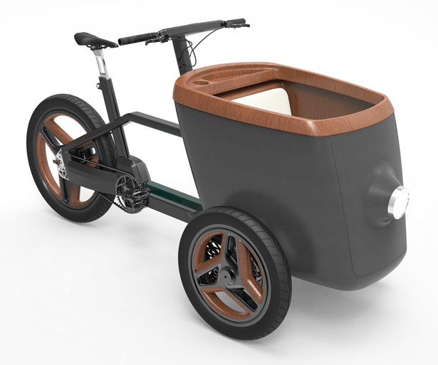 carQon Electric Bicycle by Protanium B.V - A' Design Award and Competition 2017-2018