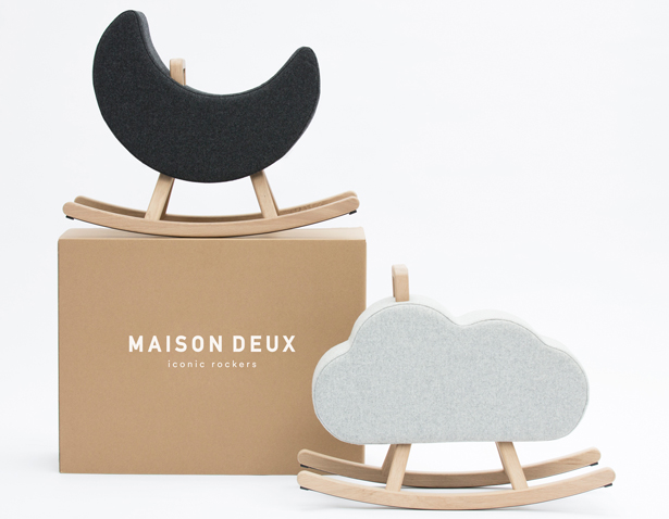 Iconic Cloud Chair Rocking Chair by Pia Weinberg - Maison Deux - A' Design Award and Competition 2017-2018