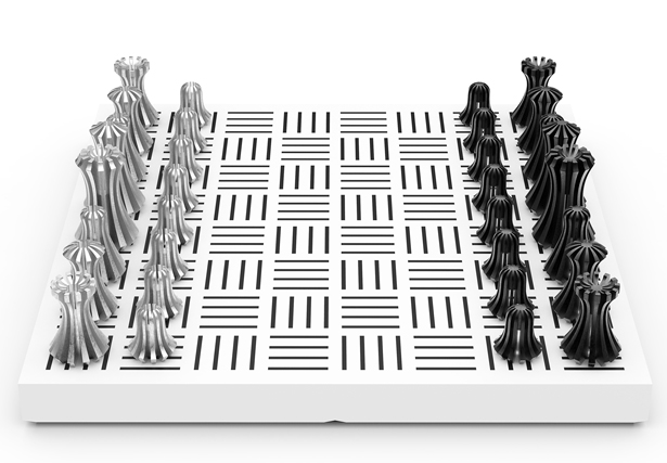 Nest Chess Set by Suha Suzen - A' Design Award and Competition 2017-2018