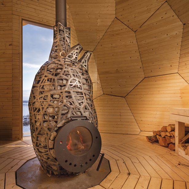 Solar Egg Public Sauna by Futurniture and Bigert & Bergström - A' Design Award and Competition 2017-2018