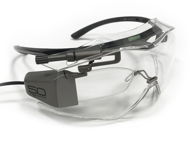 Univet 5.0 Safety Smart Glasses by Fabio Borsani - A' Design Award and Competition 2017-2018