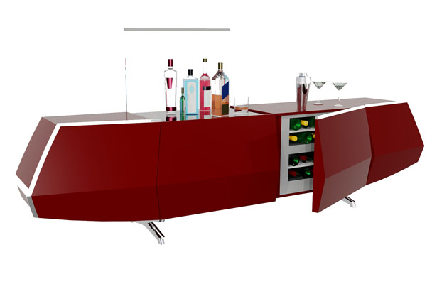 Ciel Home Bar by Bahram Salour