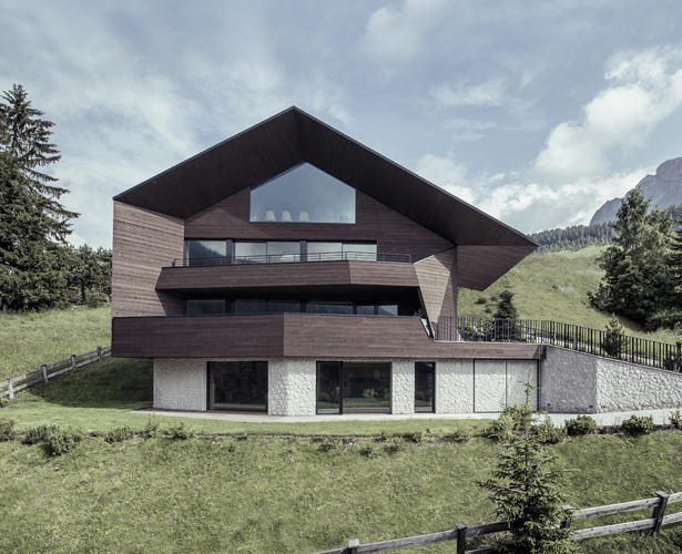 A' Design Award Architecture Category - Black Eagle Residential House by Perathoner Architects