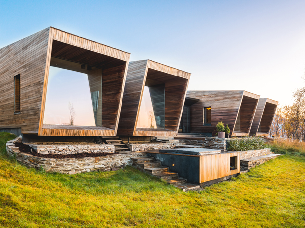 A' Design Award Architecture Category - Malangen Retreat Family retreat by Snorre Stinessen