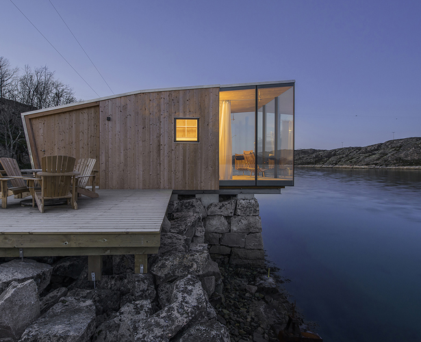 A' Design Award Architecture Category - Manshausen Island Resort by Snorre Stinessen