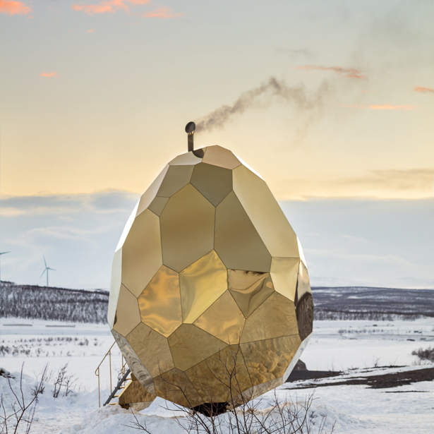 A' Design Award Architecture Category - Solar Egg Sauna by Futurniture and Bigert & Bergström