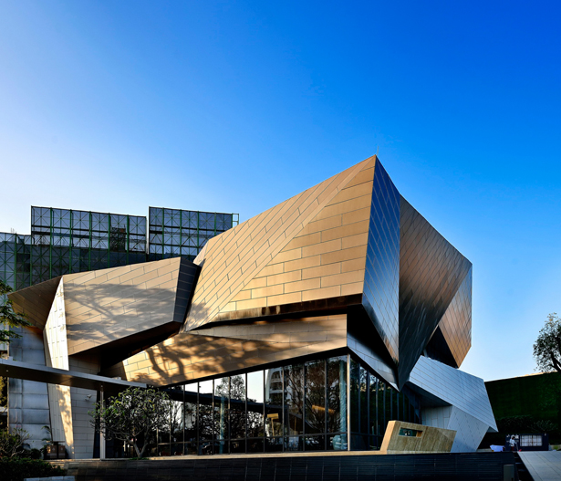 A' Design Award Architecture Category - Tai Chi Sales Center by Kris Lin