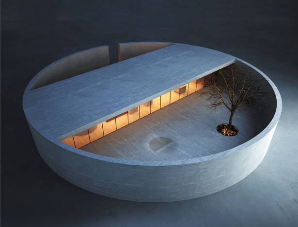A' Design Award Architecture Category - The Ring House & Atelier by MZ Architects