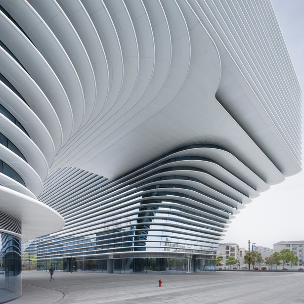 A' Design Award Architecture Category - Xixi Center Office and Business Building by Meng Fanhao