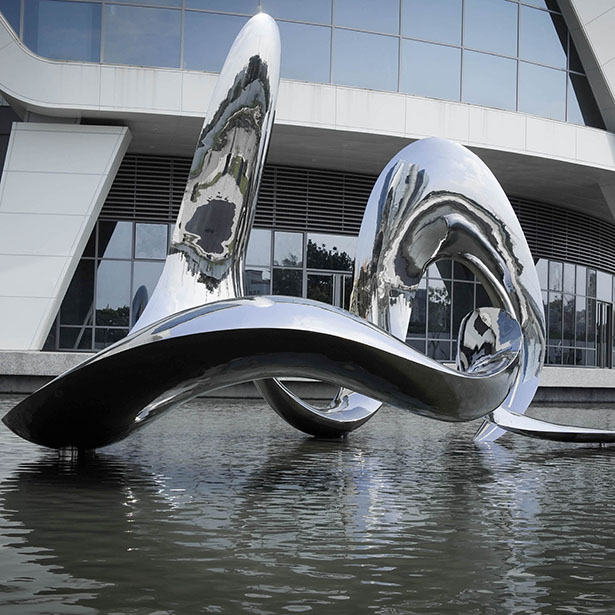 Flow With the Spirit of Water Public Art by Iutian Tsai
