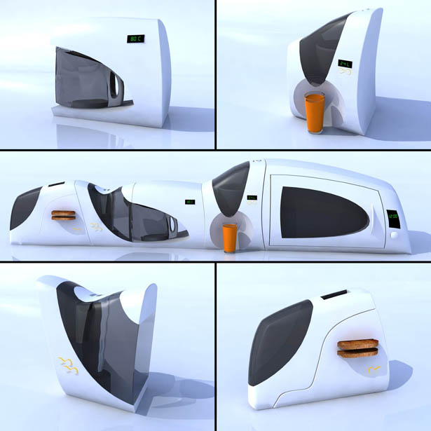 Kitchen Train Kitchen Accesories by Ahmad Abedini
