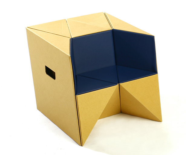 S-cube Stool, Child Chair, and Step by Daisuke Nagatomo