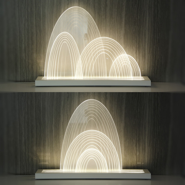 GUILIN Environment Cleansing Lamp by Kevin Chu