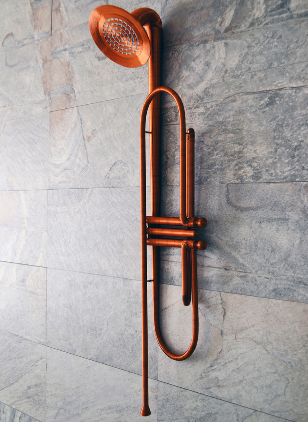 Jazz Shower by Vlad Mititelu - A' Design Awards & Competition - Winners 2016 - 2017