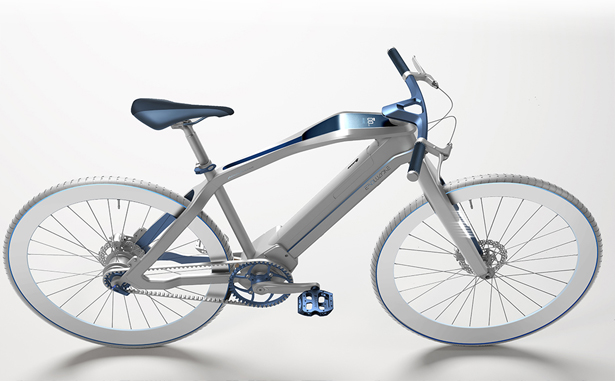 Pininfarina Evoluzione Electric bicycle by Pininfarina and Diavelo - A' Design Awards & Competition - Winners 2016 - 2017