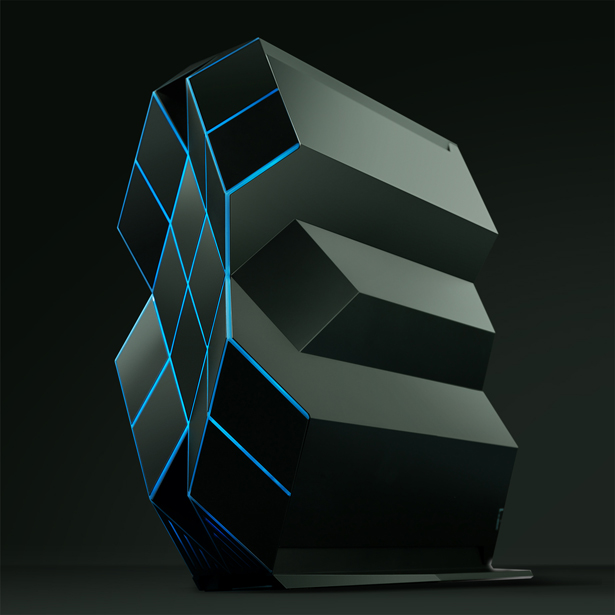 Prism Desktop Gaming Computer by Han Xin - A' Design Awards & Competition - Winners 2016 - 2017