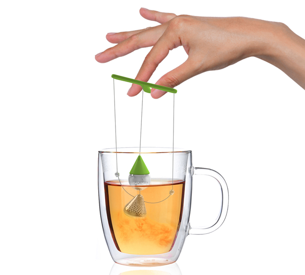 Teanocchio Tea infuser by Soroush Vahidian and Mohammad Afkhami