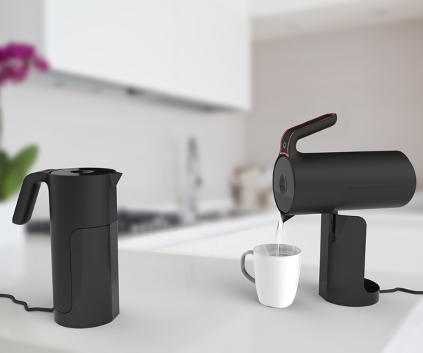 Tilt Kettle by Andy Walton - A' Design Awards & Competition - Winners 2016 - 2017