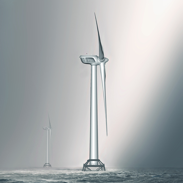 Britannia 10MW Offshore Wind Turbine by Créa Inc Design - A'Design Award and Competition Winners 2018-2019