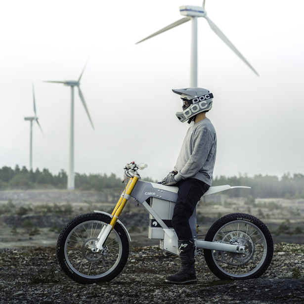 Cake Kalk Lightweight Electric Off-Road Motorbikes by Cake Design Team - A'Design Award and Competition Winners 2018-2019