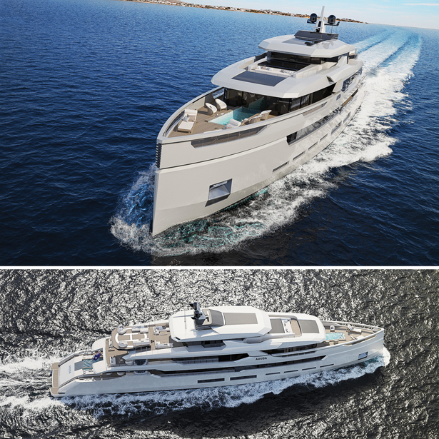Aouda 63 Motor Yacht by Sarp Yachts - A' Yacht and Marine Vessels Design Award Winners