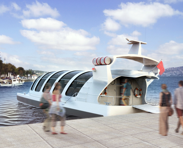 Delphi Sea Taxi by Hakan Gürsu - A' Yacht and Marine Vessels Design Award Winners