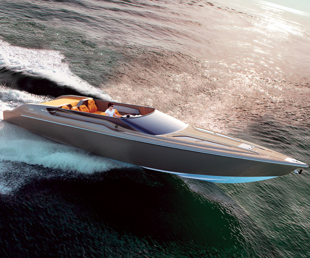 Intermarine 48 Offshore High Speed Boat by Viviane Nicoletti and Matheus Santiago - A' Yacht and Marine Vessels Design Award Winners