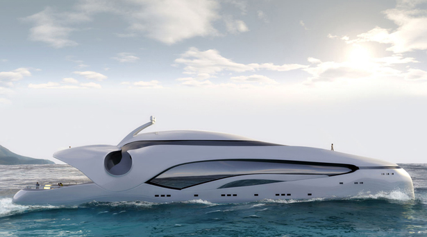 Oculus Mega Yacht by Schopfer Yachts - A' Yacht and Marine Vessels Design Award Winners