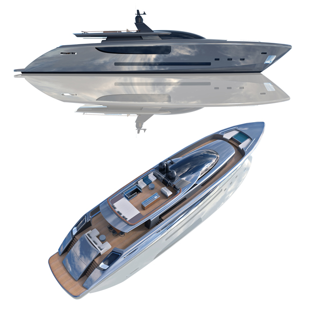 SiVola 35 Mt Motor Yacht by Antonio Cataldi - A' Yacht and Marine Vessels Design Award Winners