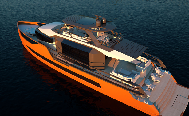 Xsr 85 Motor Yacht by Sarp Yachts - A' Yacht and Marine Vessels Design Award Winners