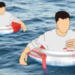 A Life Buoy Concept That Can Distill Seawater to Increase Survivor's Chance of Being Rescued