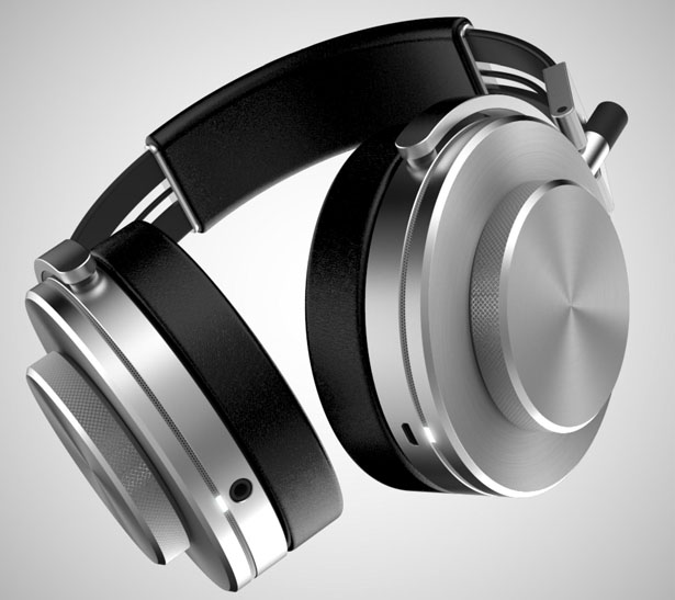 A Pair of Headphones with Retro Elements Reform by Marcus Tsai