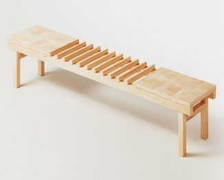 A-Part Bench Design for Social Distancing Lifestyle