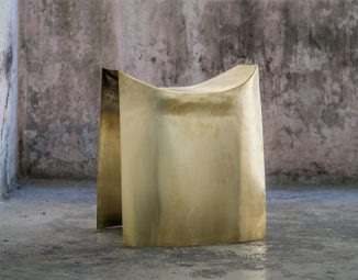 A Sheet Of Stool is Made of a Whole Piece of Copper Sheet