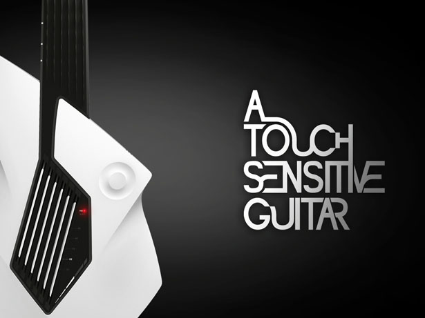 A Touch Sensitive Guitar by Formquadrat