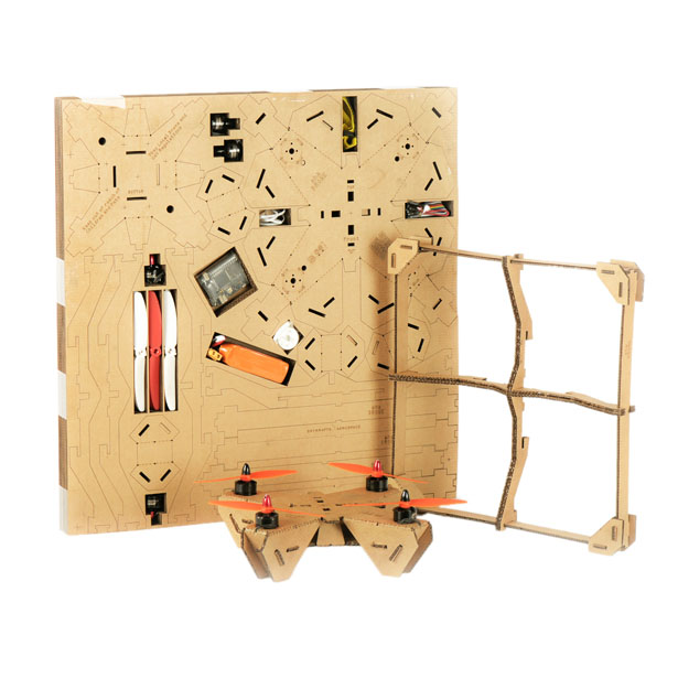 A' Toy, Games, and Hobby Products Design Award Winners - ahaDRONE Kit Cardboard Drone by Srinivasulu Reddy