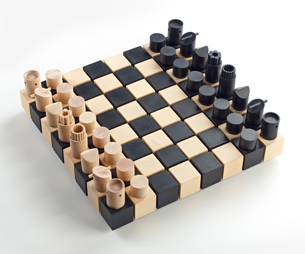 A' Toy, Games, and Hobby Products Design Award Winners - Modern Chess Set by Duval H. Patterson