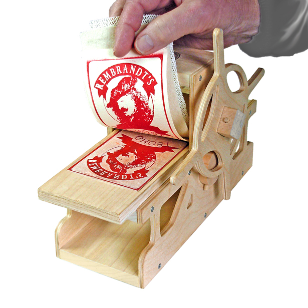A' Toy, Games, and Hobby Products Design Award Winners - DIY Rembrandt Press by Bill Ritchie