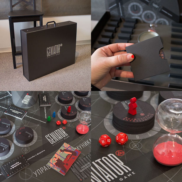 A' Toy, Games, and Hobby Products Design Award Winners - Geniator Business Game by CBI Pioneer