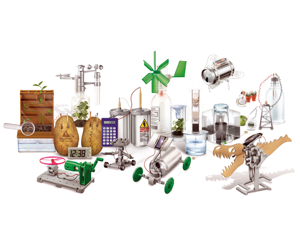 A' Toy, Games, and Hobby Products Design Award Winners - Green Science Arouse Environmentally Friendly Concept by Flora Lam, Bonnie Mak, and Ricky Wong