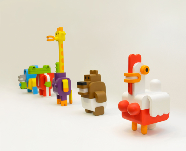 A' Toy, Games, and Hobby Products Design Award Winners - Minimals Toy by Sebastian Burga