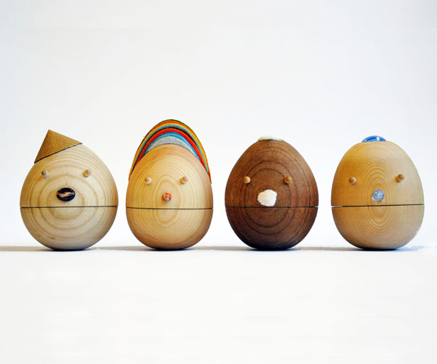 A' Toy, Games, and Hobby Products Design Award Winners - Roly Poly Movable Wooden Toys by Sha Yang