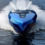 A43 - Lamborghini Inspired Luxury Speedboat Concept for Fast and Smooth Cruising